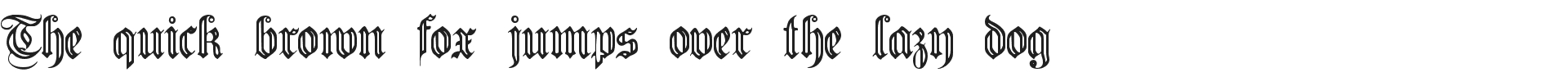 Free Germanic Font Fluted