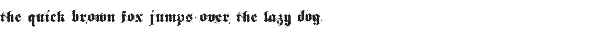 Free Stylish Gothic Font