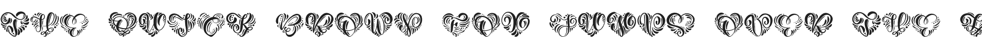 Monogram Valentine