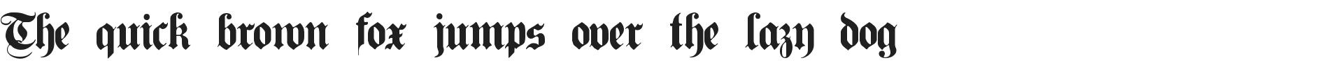 Free Germanic Font Plain