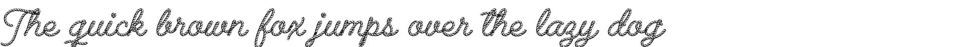 rope font free