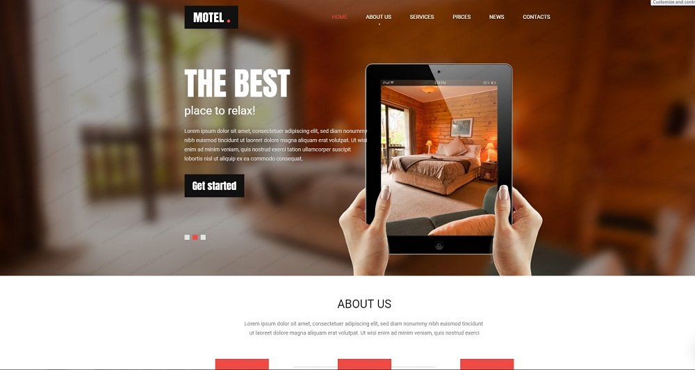 45+ Best Website Templates for Small Business in 2020 - 52449 big