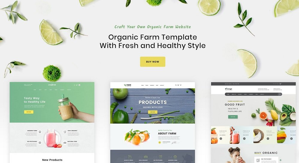 45+ Best Website Templates for Small Business in 2020 - 73860 big