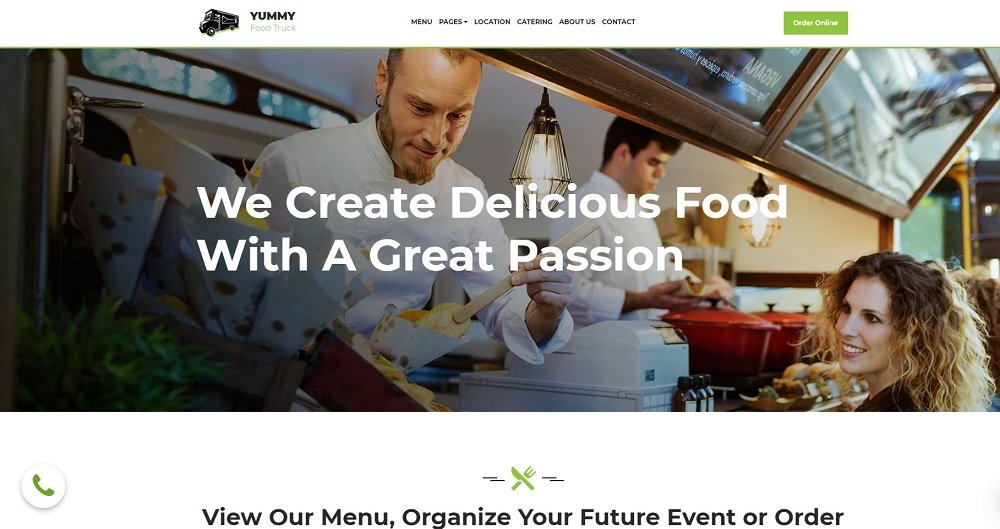 45+ Best Website Templates for Small Business in 2020 - 77246 big