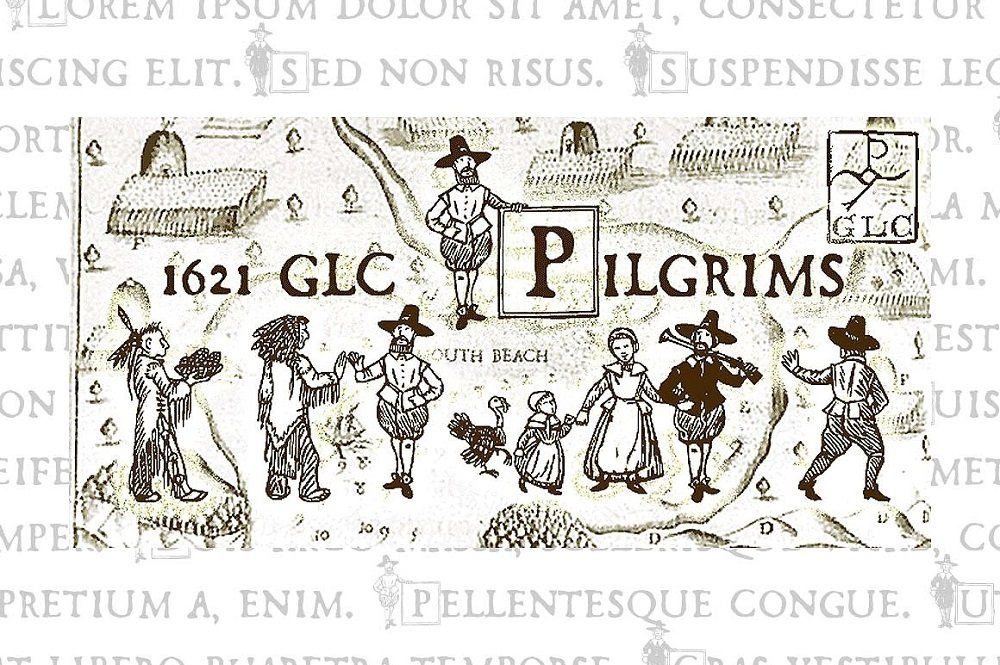 60+ Free Thanksgiving Fonts 2020 [Updated] - 1621 pilgrims