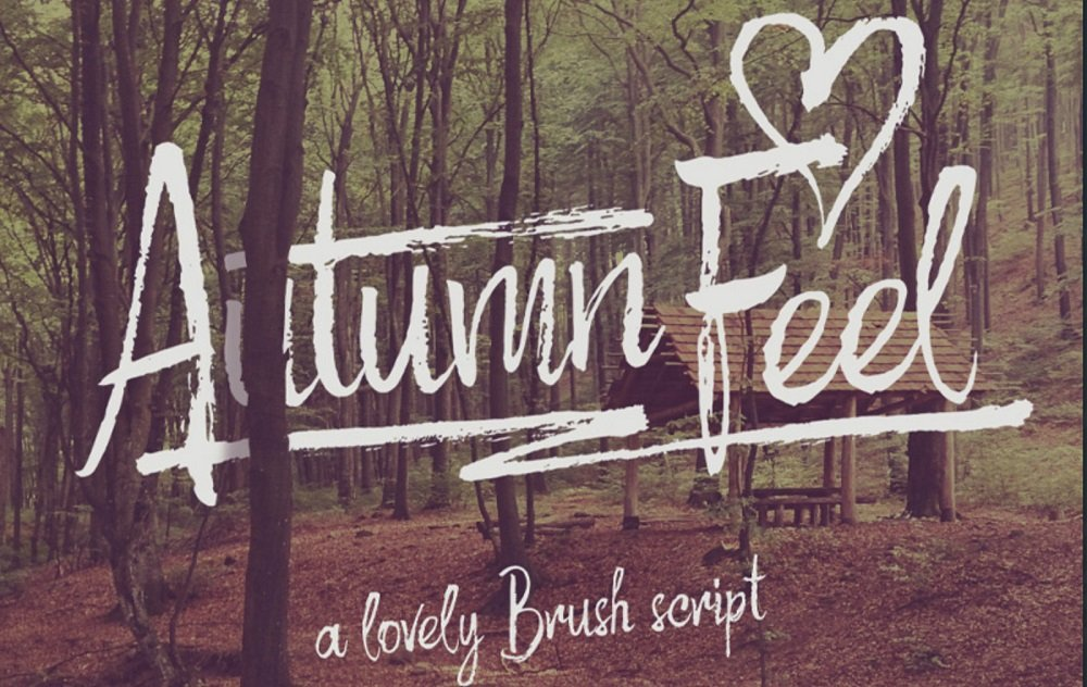 60+ Free Thanksgiving Fonts 2020 [Updated] - autumn feel font