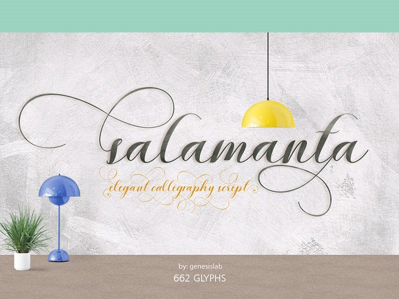 60+ Free Thanksgiving Fonts 2020 [Updated] - salamanta font