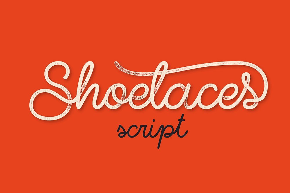 60+ Free Thanksgiving Fonts 2020 [Updated] - shoelaces font