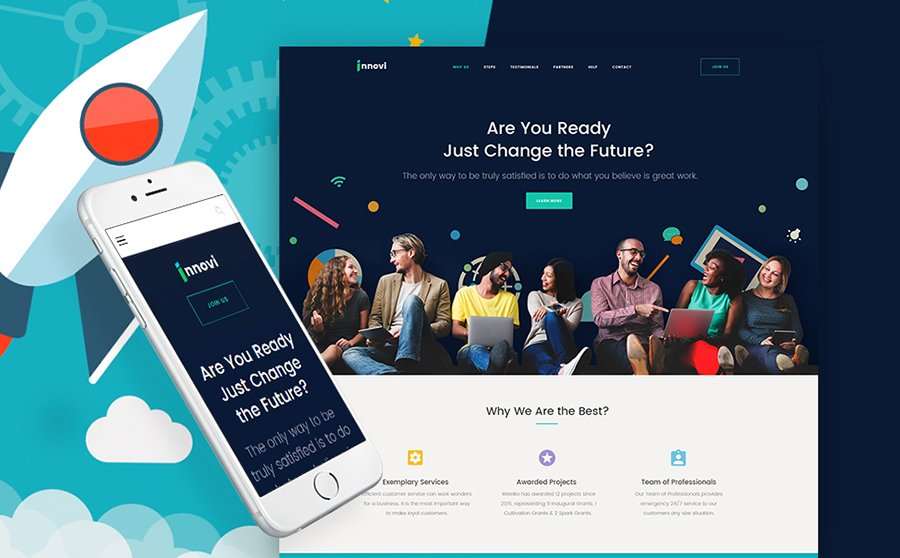 Startup Agency WordPress Theme