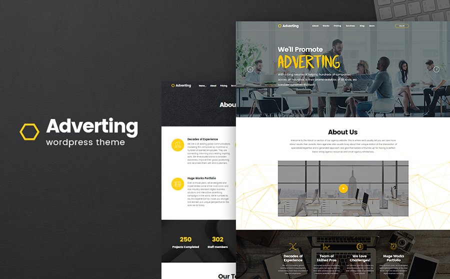 Digital Advertising Agency WordPress Theme