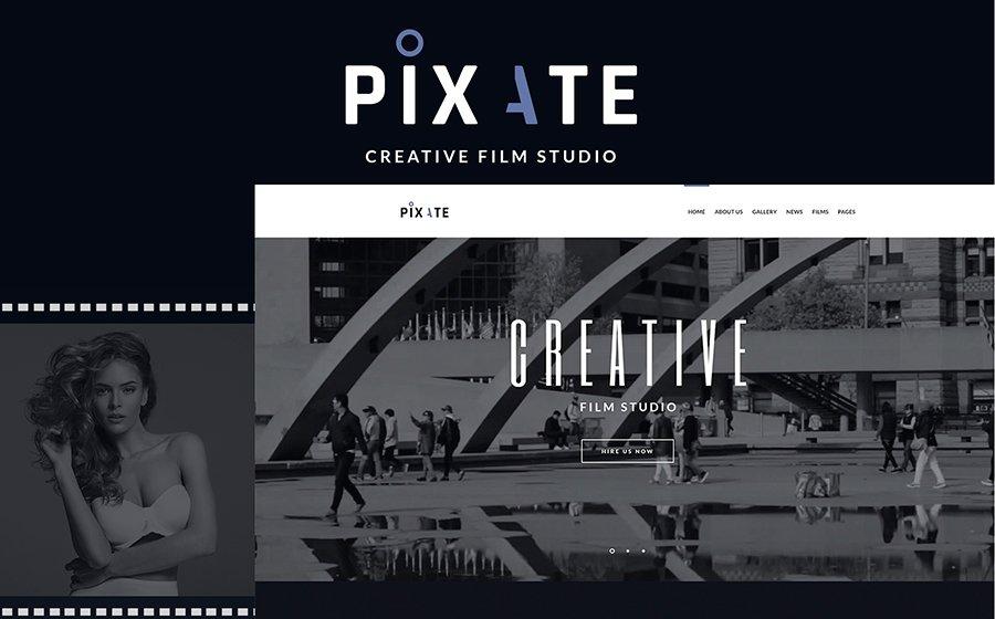 Movie Studio WordPress Theme