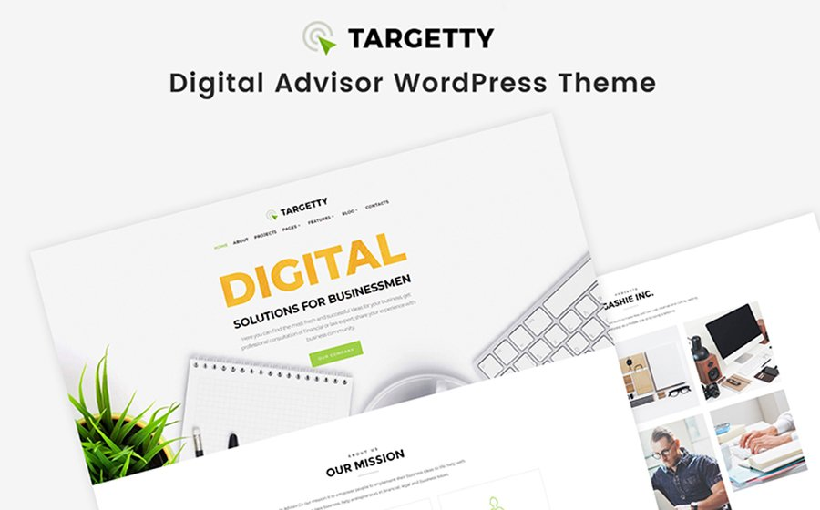 Targetty - Fancy Advertising Agency Elementor WordPress Theme