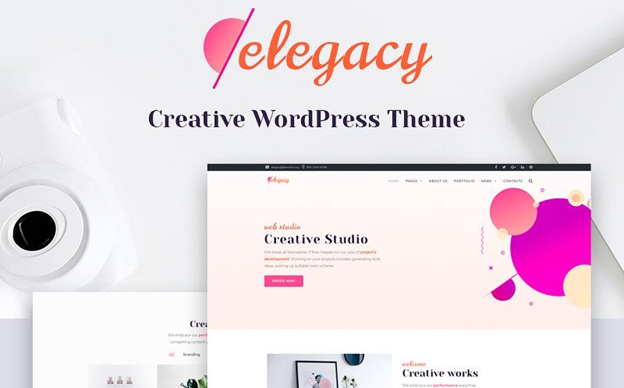 Elegacy - Creative Elementor WordPress Theme