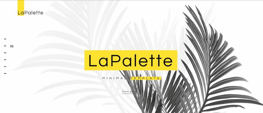 La Palette - Creative Minimal Elementor WordPress Theme