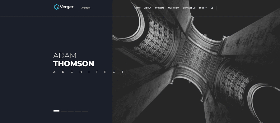 Verger - Architecture Company Multipurpose Creative Elementor WordPress Theme