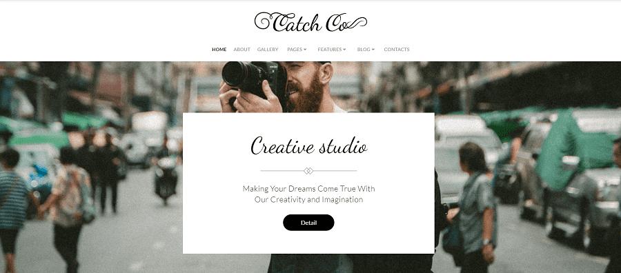Catch Co - Photo Studio Multipurpose Creative Elementor WordPress Theme