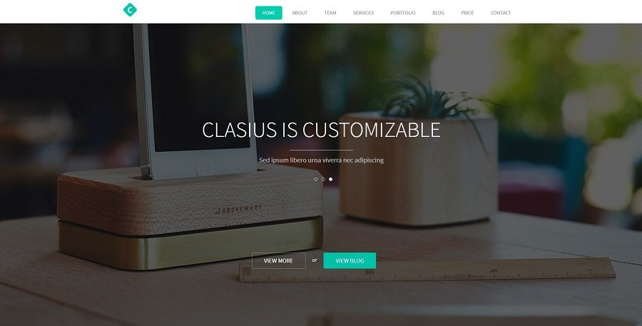 Top 35+ Creative Agency WordPress Themes - clasius