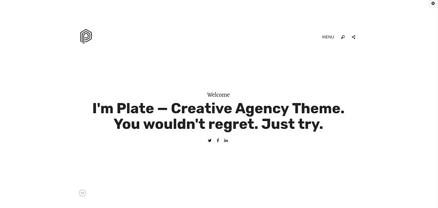 Top 35+ Creative Agency WordPress Themes - plate