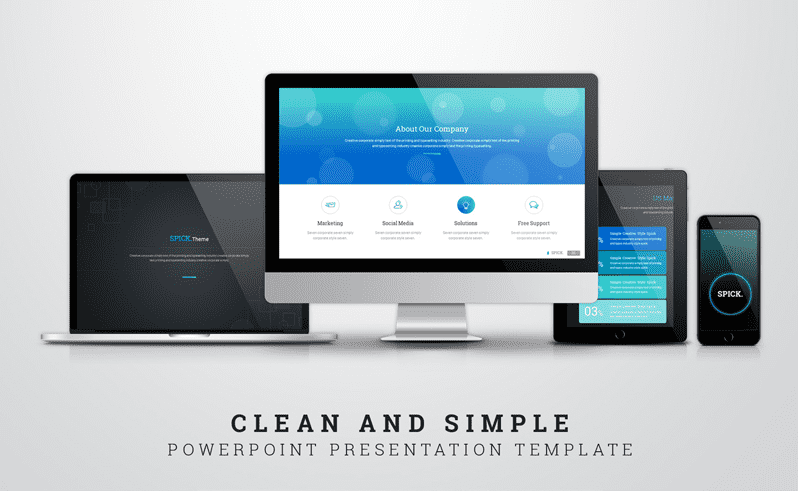 50 Creative PowerPoint Templates in 2020: Free And Premium. Best Creative Presentation Ideas - powerpoint template 12