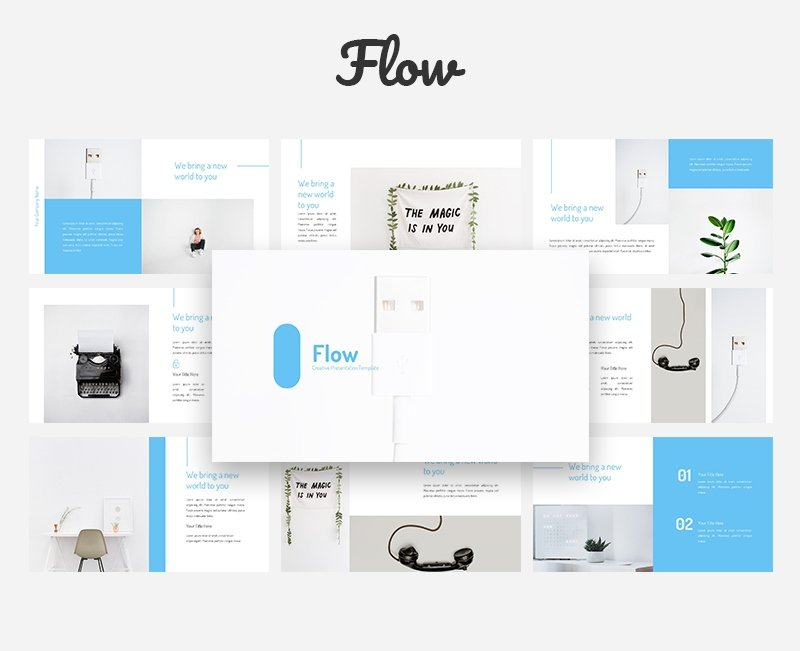 50 Creative PowerPoint Templates in 2020: Free And Premium. Best Creative Presentation Ideas - powerpoint template 25
