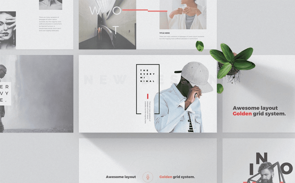 50 Creative PowerPoint Templates in 2020: Free And Premium. Best Creative Presentation Ideas - powerpoint template 5