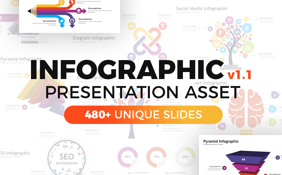 50 Creative PowerPoint Templates in 2020: Free And Premium. Best Creative Presentation Ideas - powerpoint template 7