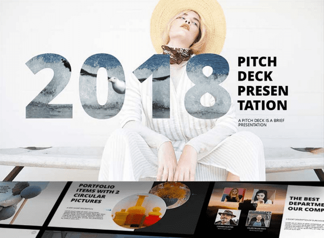 50 Creative PowerPoint Templates in 2020: Free And Premium. Best Creative Presentation Ideas - powerpoint template 8