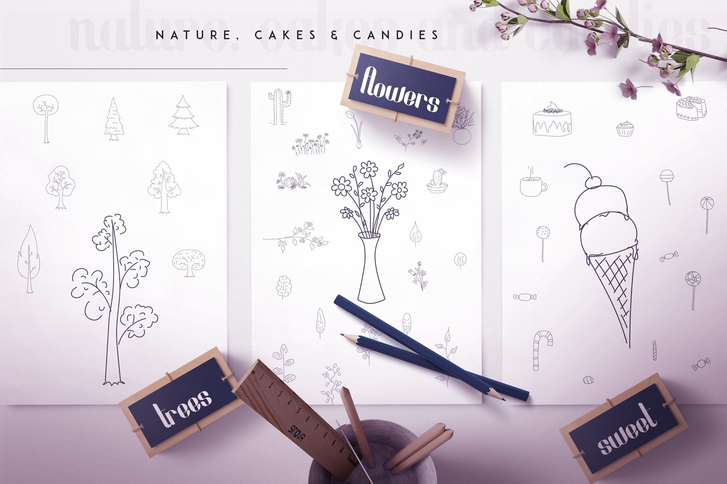Fonatik Display Font + Book of Wonders - just $19 - 16 1