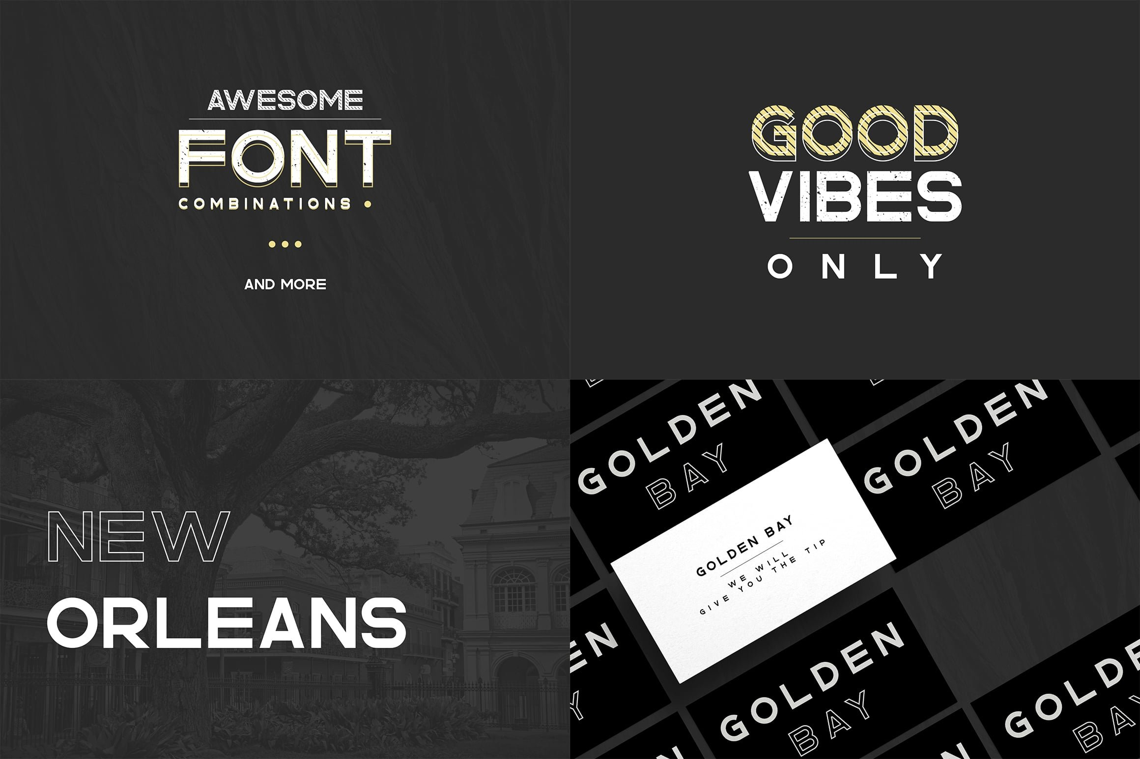 Digital Display Fonts - 85 Sans & Display Fonts Bundle - 16