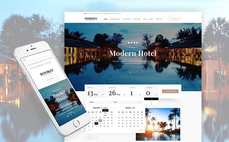 Hotel WP Theme