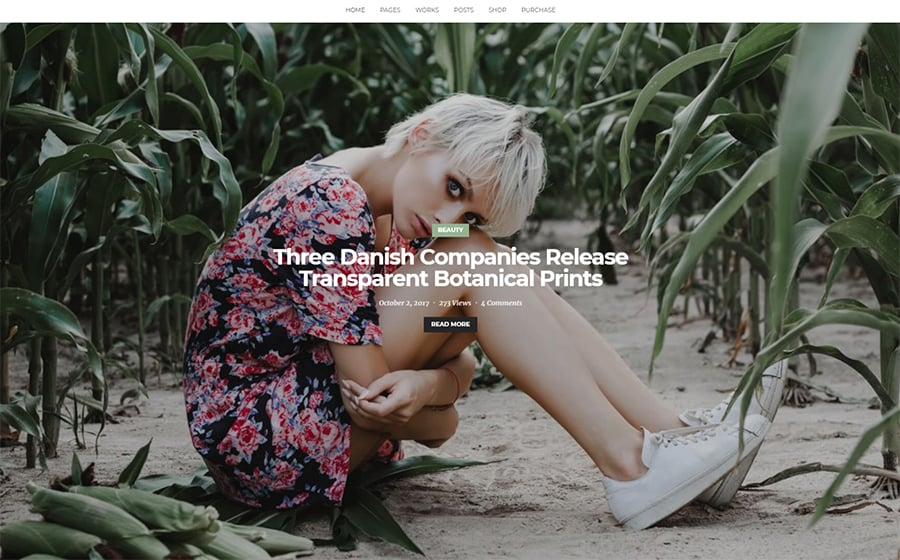 Ramsay - Multi-Conceptual Blog & Portfolio WordPress Theme.