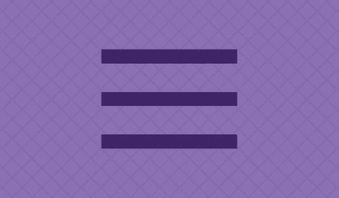 Hamburger Menu: Use In Web and Mobile User Interfaces - Master Bundles