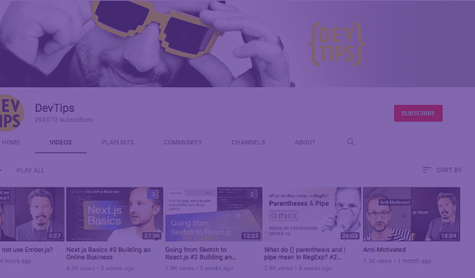 70 YouTube Channels For Learning Web Design in 2020