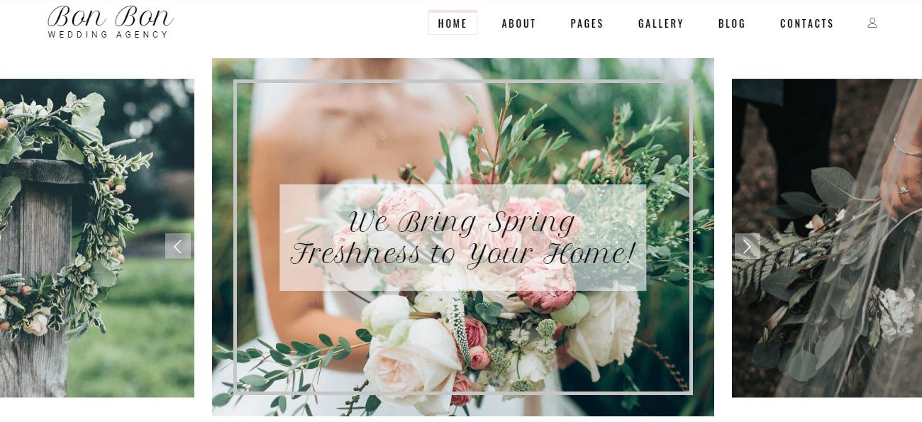 35+ Best Wedding & Dating Website Templates in 2019 - image1 3