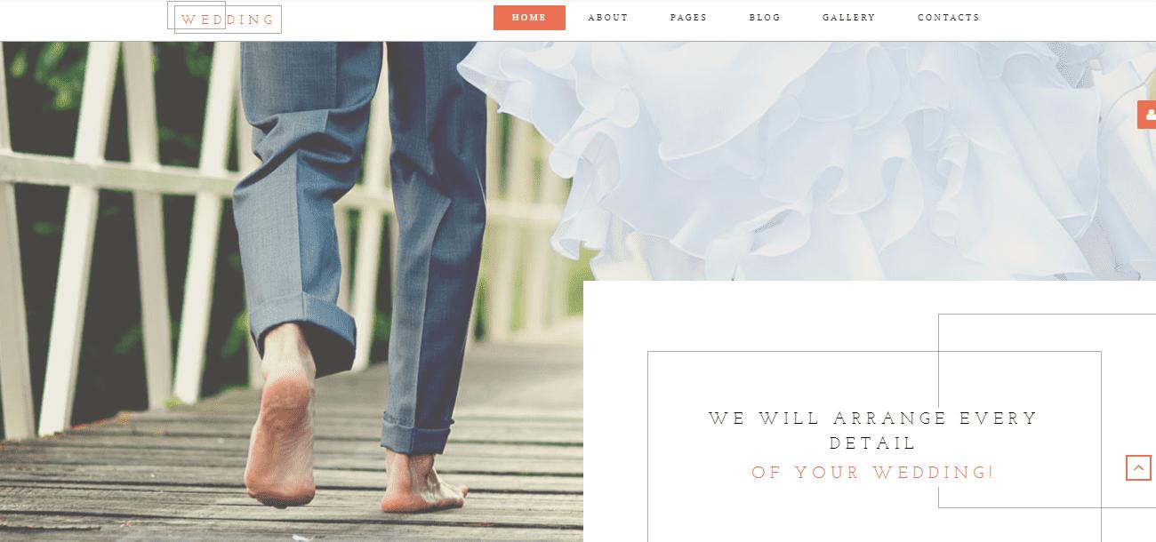 35+ Best Wedding & Dating Website Templates in 2019 - image2 3