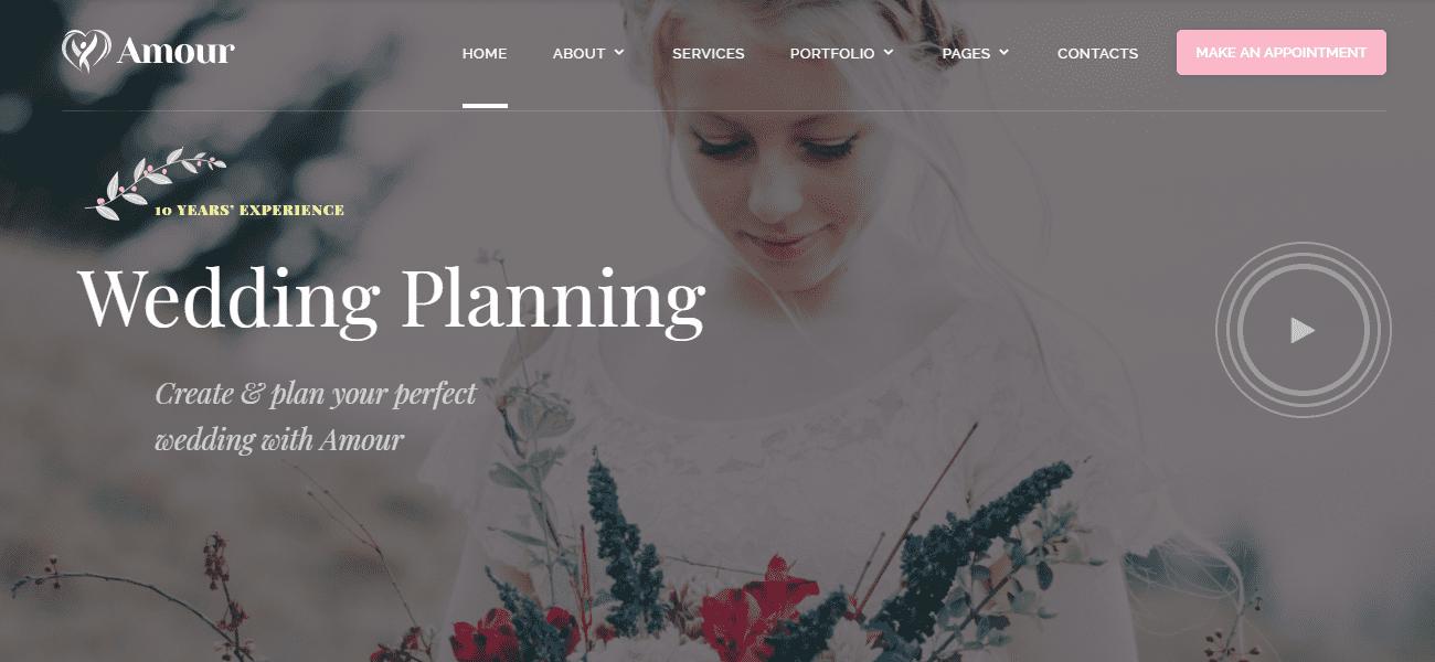 35+ Best Wedding & Dating Website Templates in 2019 - image3 3
