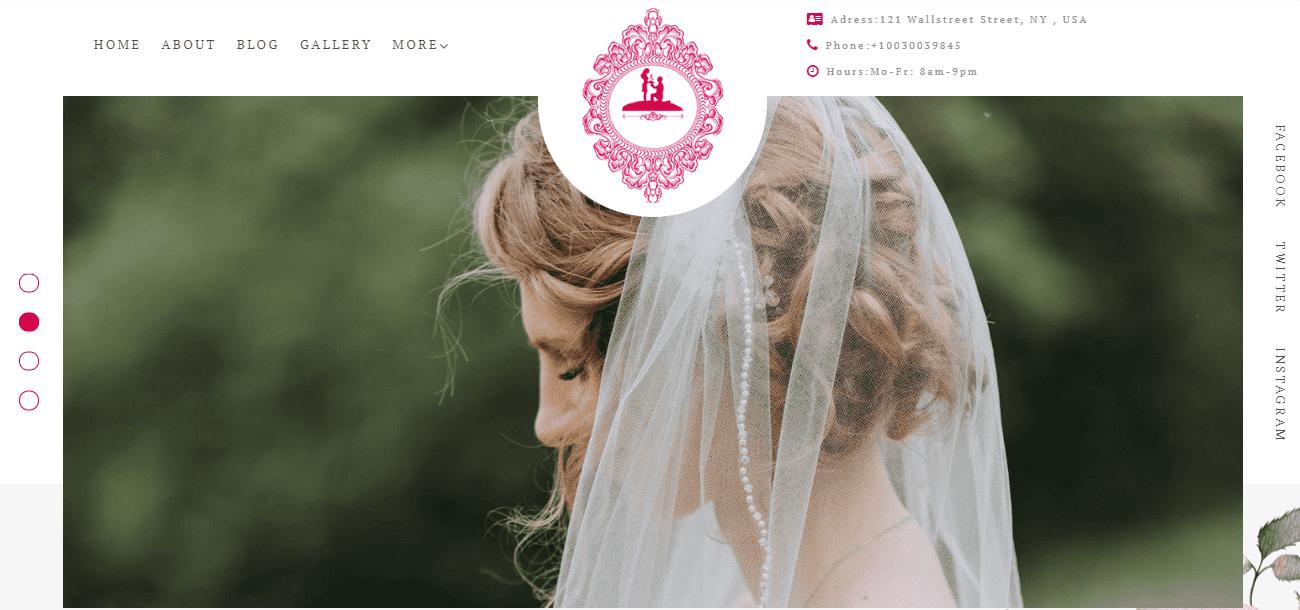 35+ Best Wedding & Dating Website Templates in 2019 - image4 3