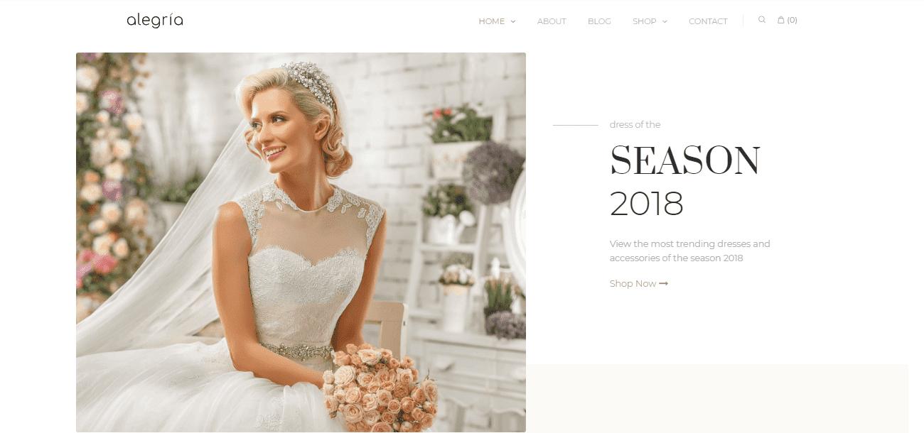 35+ Best Wedding & Dating Website Templates in 2019 - image5 3