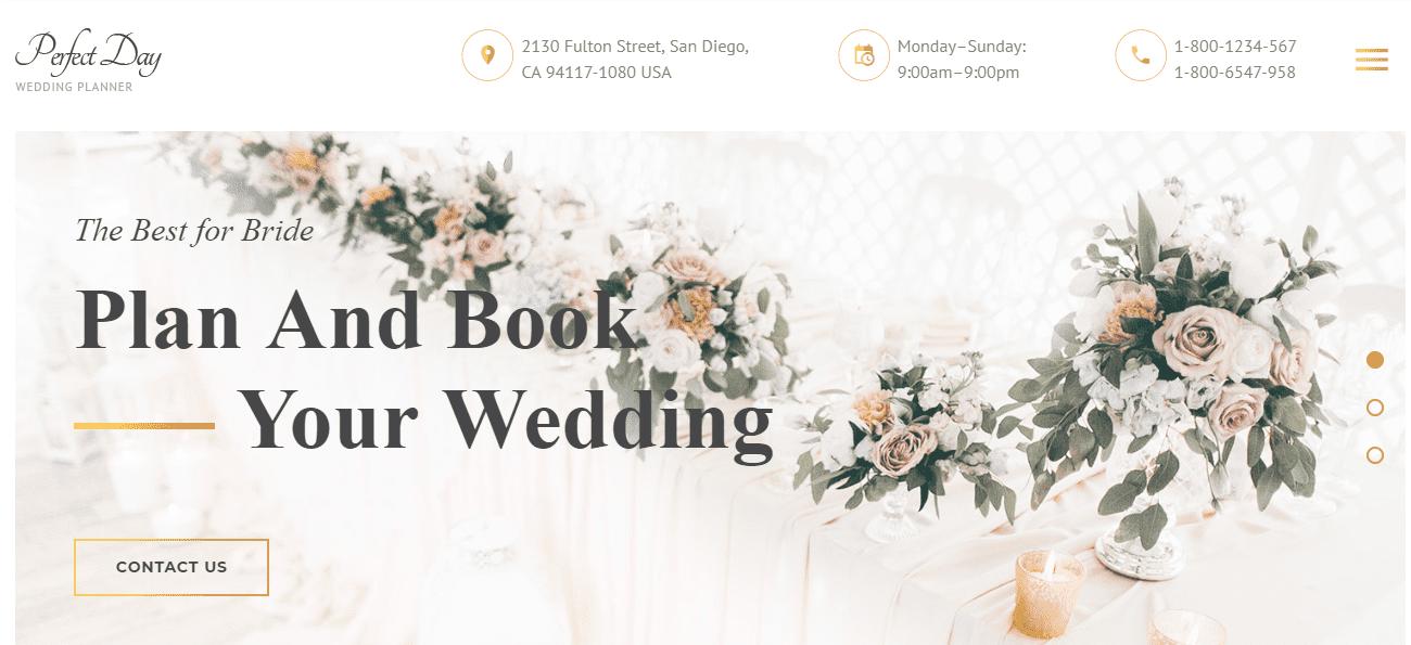 35+ Best Wedding & Dating Website Templates in 2019 - image7 2