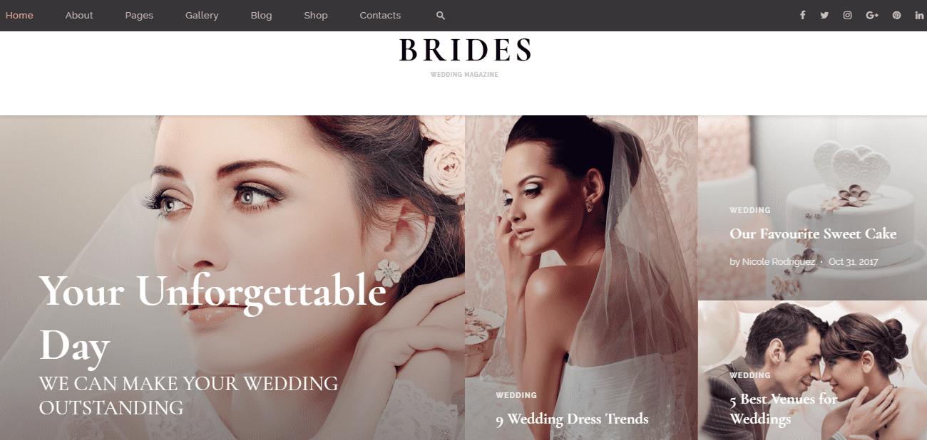 35+ Best Wedding & Dating Website Templates in 2019 - image9 2