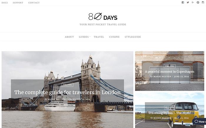 50+ Hottest Personal Blog WordPress Themes 2020: Free & Premium - wordpress themes blog 11