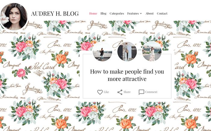 50+ Hottest Personal Blog WordPress Themes 2020: Free & Premium - wordpress themes blog 20