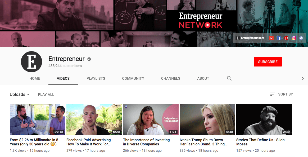 60+ YouTube Channels For Learning Digital Marketing in 2020 - yt m 13
