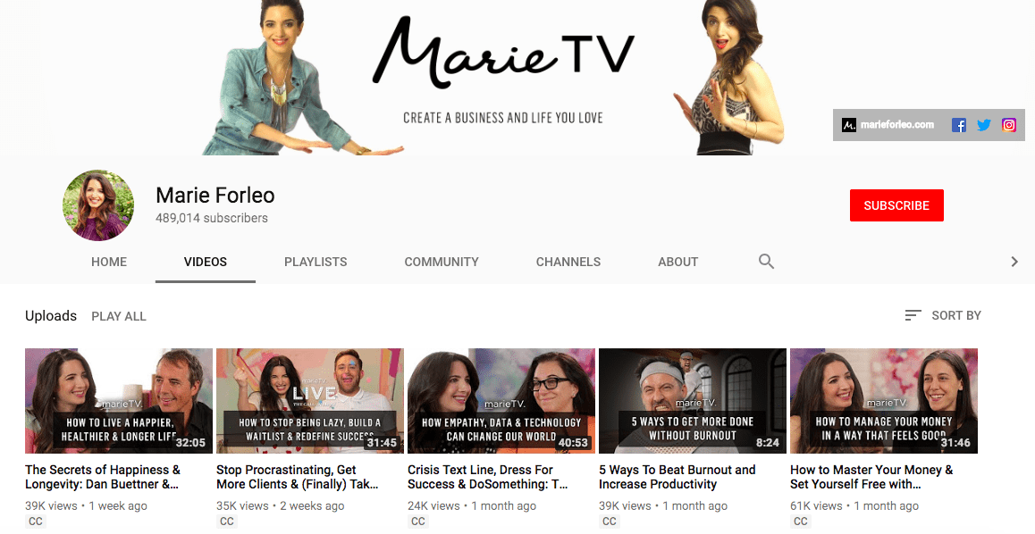60+ YouTube Channels For Learning Digital Marketing in 2020 - yt m 30