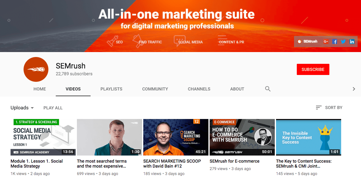 60+ YouTube Channels For Learning Digital Marketing in 2020 - yt m 44