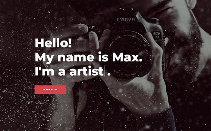 Shootex - Photographer Jet Elementor Template