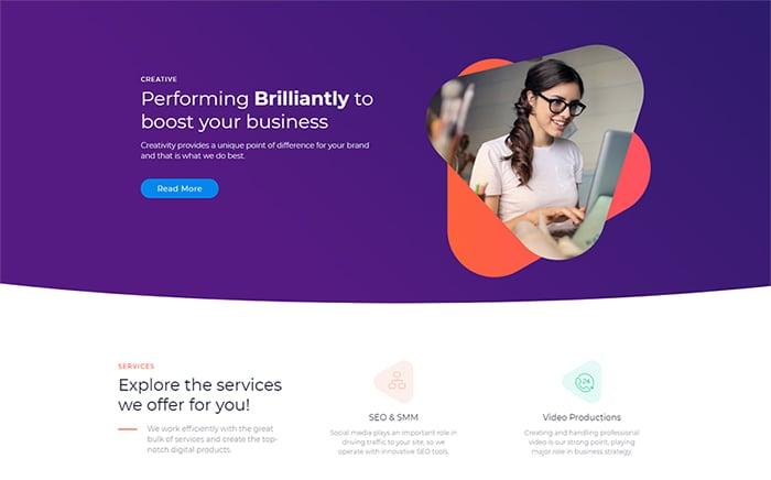 Marketz - Digital Agency Pro Elementor Template