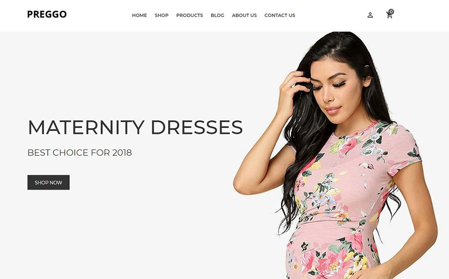 Preggo - Maternity Shopify Theme
