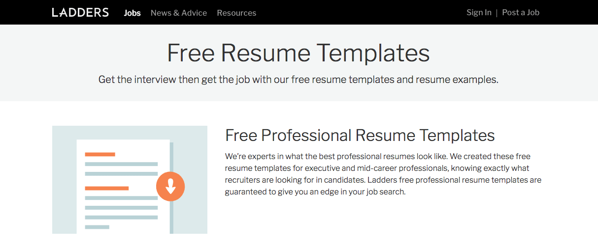 Top 6 Free Online Resume Builders - Screen Shot 2018 09 19 at 4.21.12 PM min