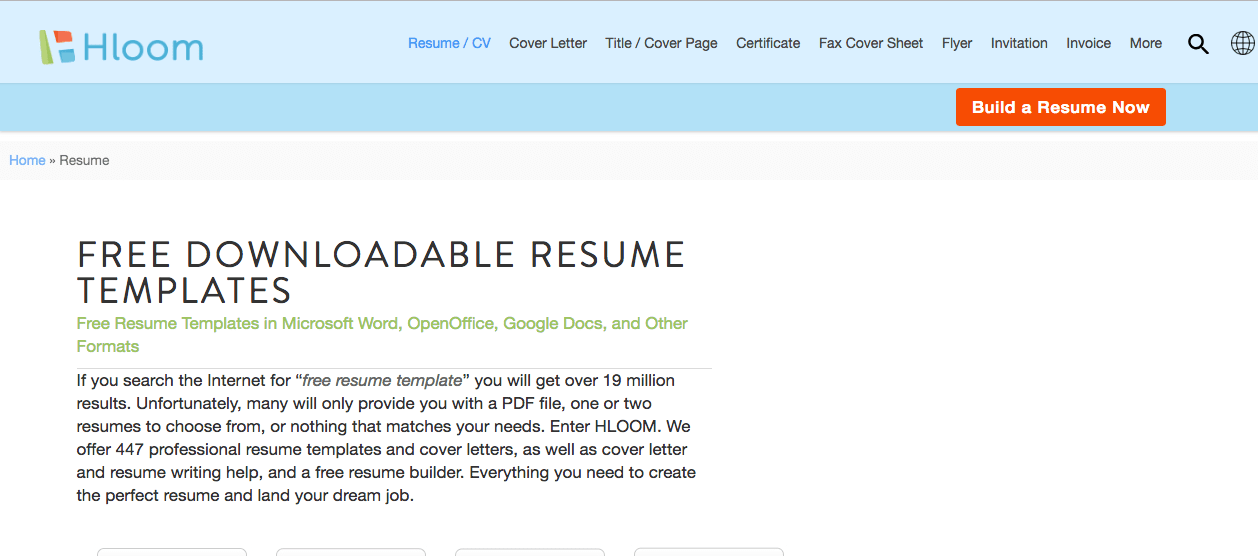Top 6 Free Online Resume Builders - Screen Shot 2018 09 19 at 4.21.37 PM min